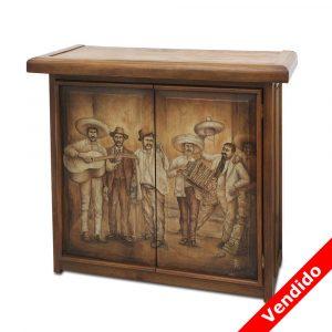 Mueble de madera cantina