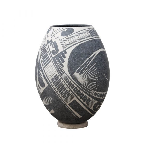 Olla de cerámica de Mata Ortíz